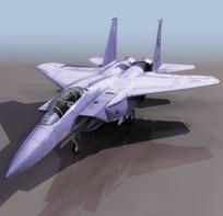 飞机F153D模型