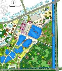 平面景区规划图