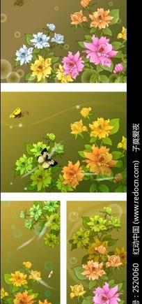 花卉矢量素材下载