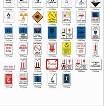 警示牌素材