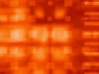 橙色炫动光背景