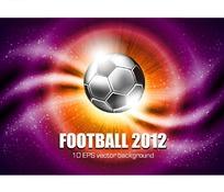 创意足球世界杯官方海报设计