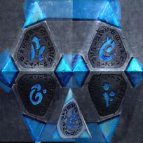 魔法水晶3ds模型