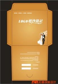 古铜金婚礼光盘封套