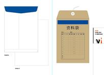 VI资料袋设计