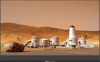 火星基地 BASE ON MARS视频素材