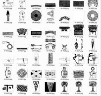 传统纹样素材