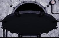 开启的舱门动画mov