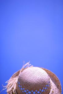 蓝天下的太阳帽