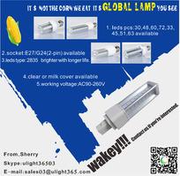 led玉米灯宣传海报