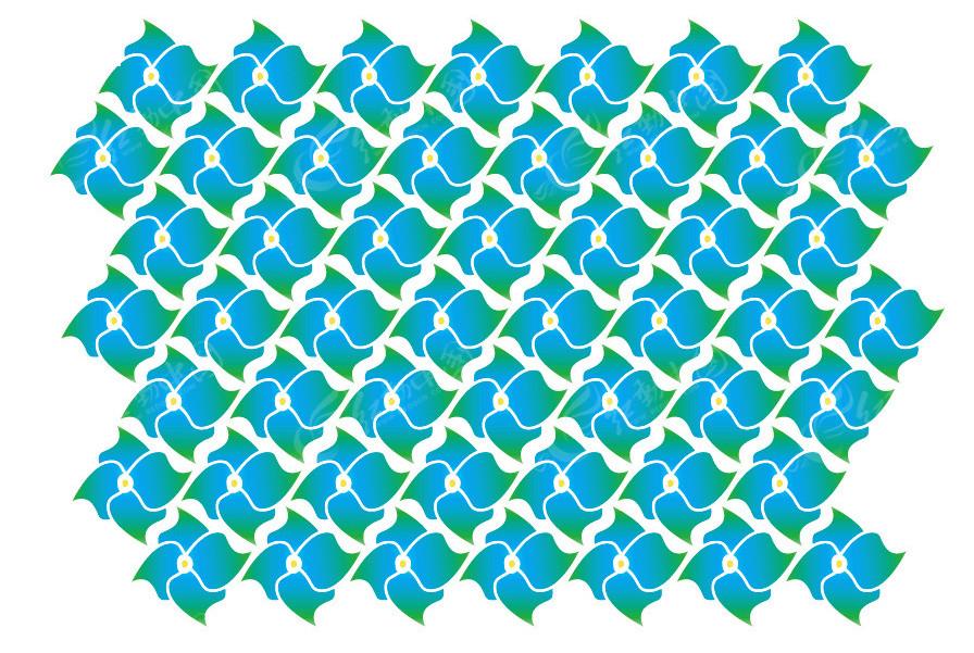 四方宝塔矢量图