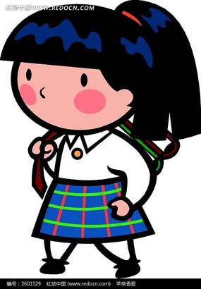 下载收藏 2个背书包的女孩ps素材 下载收藏 背书包的小女孩卡通瓷