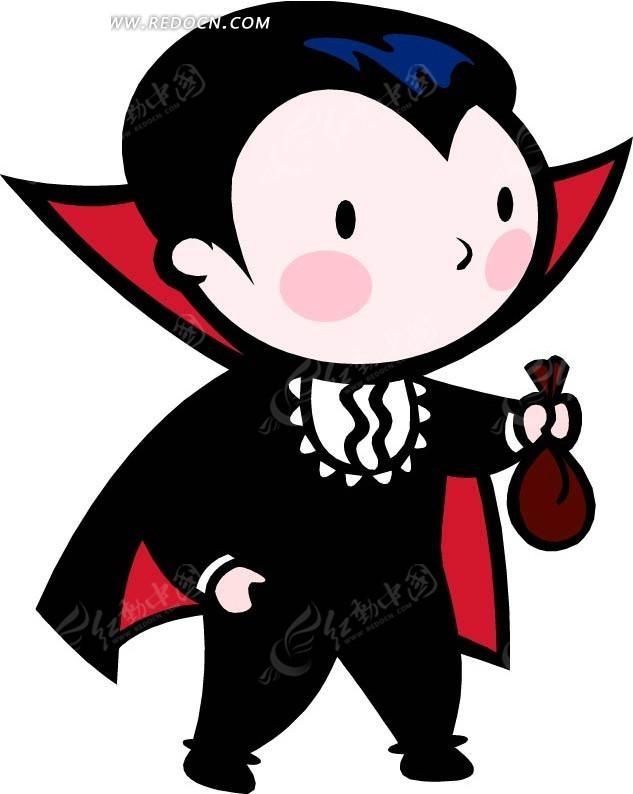 吸血鬼卡通画