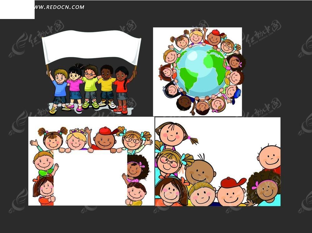 国外创意海报 国外创意海报 儿童节pop手绘海报