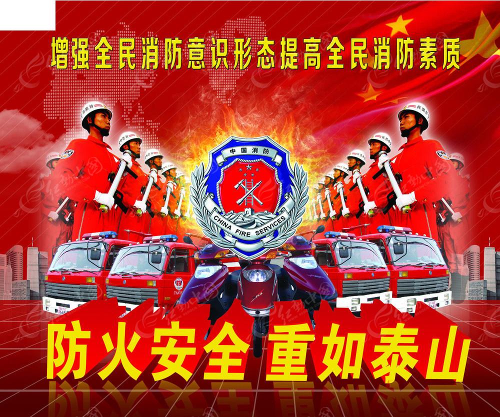 消防安全展板