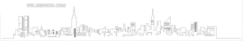 著名建筑物矢量cdr  建筑物cdr 矢量素材   城市建筑物 传统图案