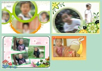 可爱儿童摄影相册模板