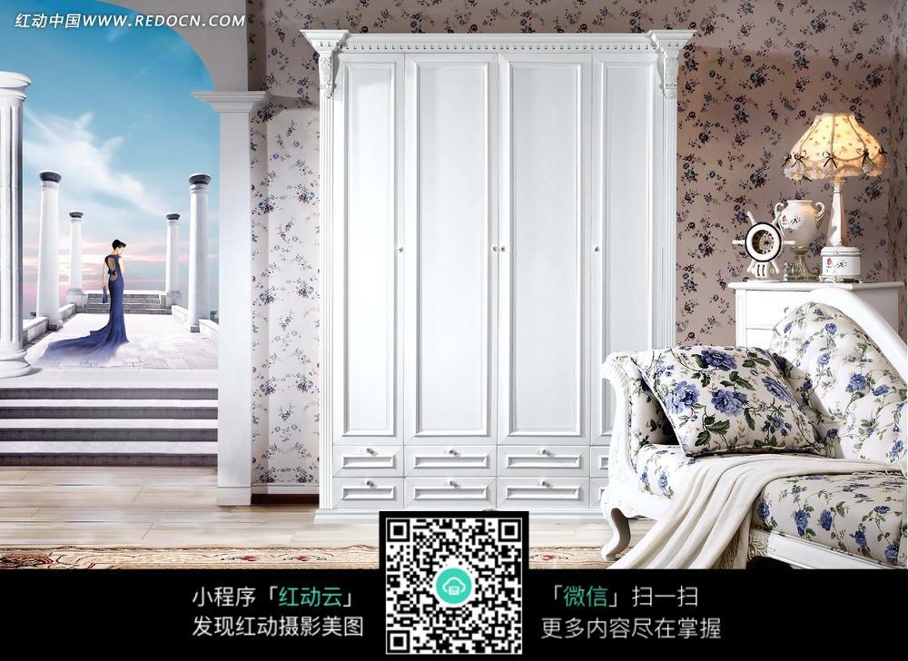 欧式衣柜图片_室内设计图片