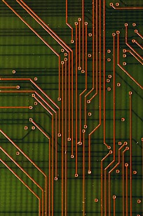 电子科技图案