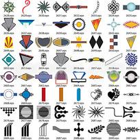 各种标识设计素材