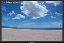 金色的沙滩视频素材