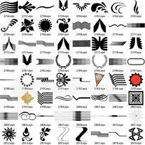 各种形式花纹图