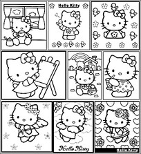 hello kitty�ڰ�ͼ