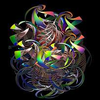 几何抽象图