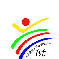 体育文化节标志设计图片
