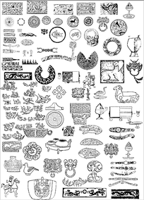 古代图腾纹样