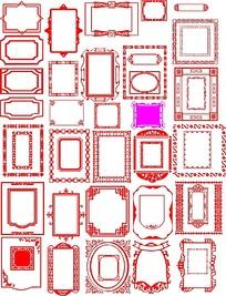 中式复古边框素材