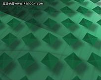 绿色菱格动态背景视频素材