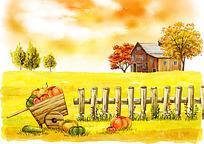 秋天收获的季节