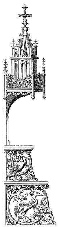 巴洛克复古建筑图片素材