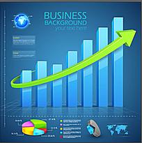 金融数据统计图表素材