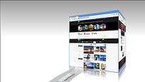 简洁实用的产品网站宣传展示