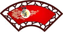中秋节吊旗素材
