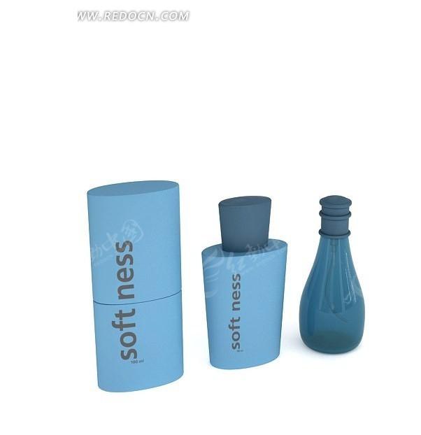 3D香水瓶子模型
