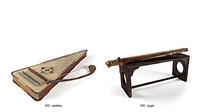 3D索尔特里琴古琴模型