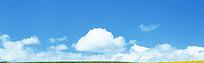 蓝天白云背景图片