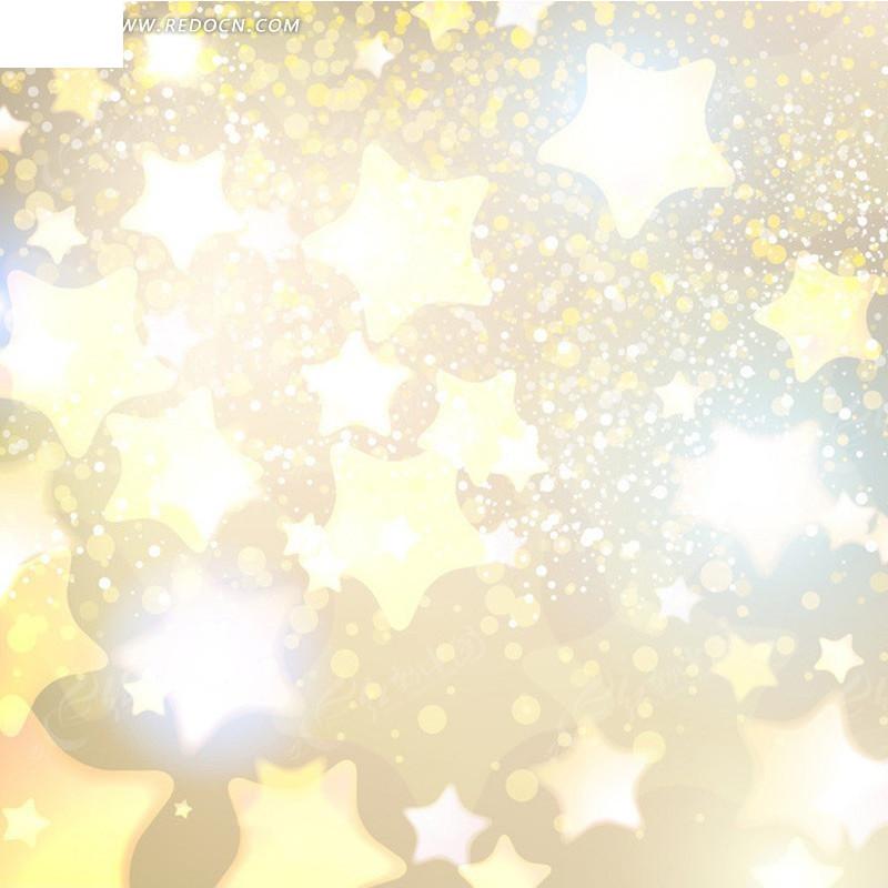梦幻光点五角星淘宝主图背景