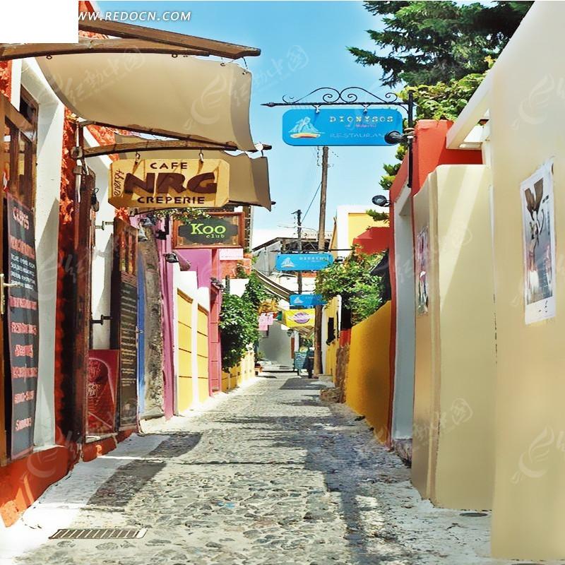 淘宝街道背景图片图片