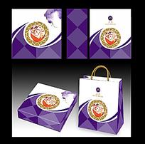中秋月饼手提袋设计