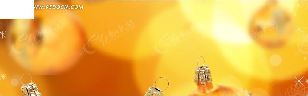 金色光晕和饰品图案淘宝店招背景jpg素材免费下载_红图片