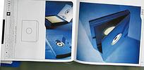 蓝色CD包装设计素材