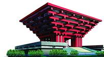 上海世博会国家馆图片素材