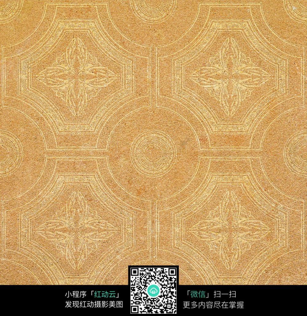 瓷砖花纹背景图片