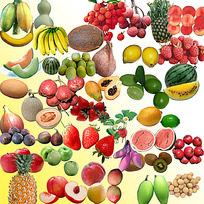 新鲜水果素材