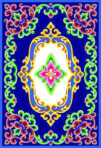 蒙古族花纹图案