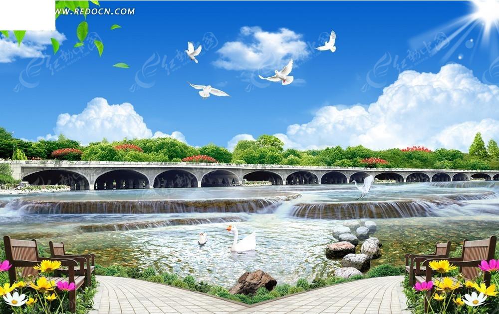 自然风景背景素材